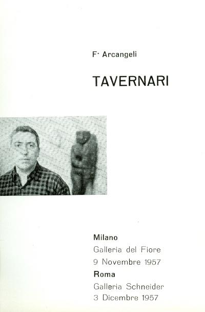 1957 - Arcangeli - Milano e Roma