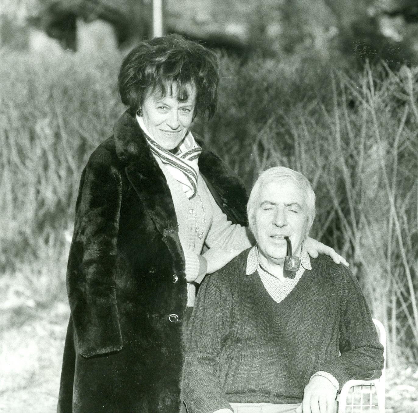 1973 - Vittorio e Piera Tavernari a Barasso