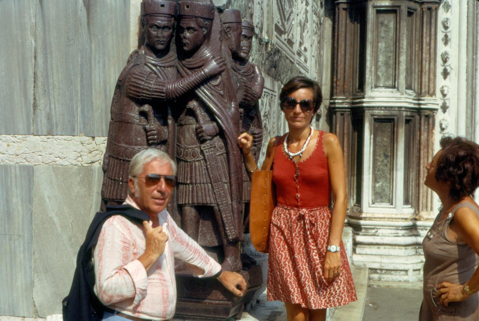 1975 - Vittorio e Piera con la figlia Carla