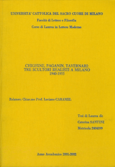 2001-02 - Tesi di C. Santini